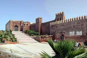 The fort in Rabat