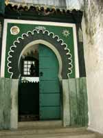 Entrance to a mosque in Tangier
